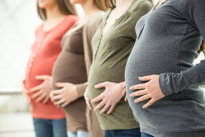 Lifestyle, regime, nutrition and hygiene of a pregnant woman